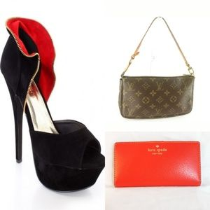 Louis Vuitton Purse and Kate Spade Wallet